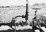 Photograph of machinery at Hoover Dam, 1931