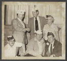 Photograph of American Legion Post 51 members, North Las Vegas, Nevada, March 5, 1975