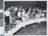 Photograph of commencement reception for the University of Nevada, Las Vegas, 1971