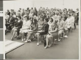 Photograph of fraternity iniation, University of Nevada, Las Vegas, Spring 1971