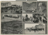 Photograph of scenes from Goldfield, Nevada, 1906