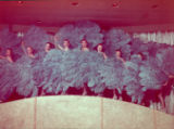 Photograph of the Copa Girls, Sands Hotel, Las Vegas, circa 1950s