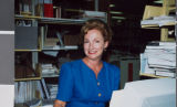 Photograph of Carrie Myers, University of Nevada, Las Vegas, May 1992