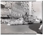 Film transparency of The Desert Inn Hotel's float entry in the Helldorado Parade, Fremont Street,...
