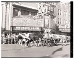 "Film transparency of the buckboard dubbed ""3 Kids Mine"" in the Helldorado Parade on..."