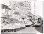 Film transparency of the Hotel Sahara float entry in the Helldorado Parade on Fremont Street, Las...