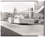 Film transparency of the Amelia Earhart Scholarship float entry in the Helldorado Parade, Las...