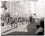 Film transparency of Entry Number 103 in the Helldorado Parade on Fremont Street, Las Vegas,...