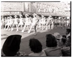 Film transparency of an all female drill team in the Helldorado Parade on Fremont Street, Las...