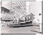 Film transparency of the Tropicana Hotel's float entry in the Helldorado Parade, Fremont Street,...