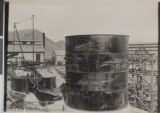 Photograph of construction at the Goldfield Consolidated Mining Company, Goldfield, Nevada, circa...