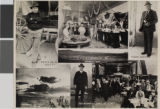 Postcard of Weepah, Nevada, desert and gambling scenes, Death Valley Scotty, Frank Horton, Jr.,...