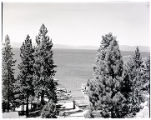 Film transparency of Lake Tahoe, Nevada, circa 1940s