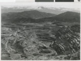 Photograph of Kennecott's Liberty Pit, 1960-1961