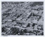 Aerial photograph of downtown Las Vegas with comments, (Nev.), June 23, 1962