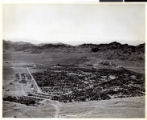 Aerial photograph of Boulder City (Nev.), 1940s-1950s