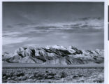 Photograph of mountains in the desert, (Nev.), 1930s