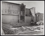 Photograph of exterior construction for Stardust renovation, Las Vegas, (Nev.), March 18, 1975