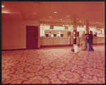 Photograph of registration desk at Stardust Hotel, Las Vegas (Nev.), circa 1974