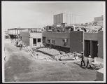 Photograph of exterior construction during Stardust renovation, Las Vegas, (Nev.), March 25, 1975