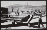 Photograph of Dorothy's starting plane, Pahrump (Nev.), 1950s