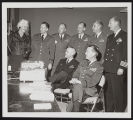 Photograph of Dorothy and reserve officers of the Industrial College of the Armed Forces, Las...