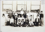 Photograph of Olive Lake's fourth grade class, Las Vegas, 1918