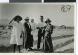 Photograph of Rockwell family members in Jean, Nevada, 1917