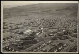 Aerial photograph of Boulder City, Nevada, circa 1933 - late 1930s