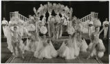 Photograph of showgirls performing in the Lido de Paris in Paris, France, 1960-1969
