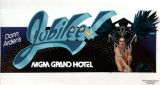 Advertisement for Donn Arden's Jubilee! at MGM Grand Hotel, Las Vegas (Nev.), 1980s