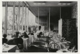 Photograph of the restaurant at the Flamingo Hotel (Las Vegas), 1947-1948