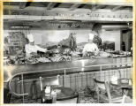 Photograph of the Chuck Wagon Buffet at the El Rancho Vegas (Las Vegas), late 1940s