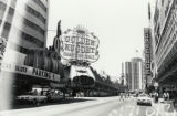 Photograph of Fremont Street and the front exterior of the Golden Nugget (Las Vegas), circa 1979