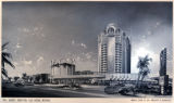 Film negative, artist's rendering of the proposed Sands Hotel remodel (Las Vegas), circa 1965