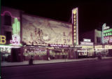 Film transparency of the front of the Westerner Gambling House (Las Vegas), circa 1950s