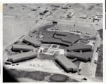 Aerial photograph of the Hacienda (Las Vegas), circa 1957