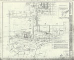 Architectural drawing of additions and alterations to first floor plumbing, Sands Hotel, Las...