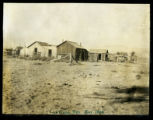 Photograph of cabins, Las Vegas (Nev.), November, 1904