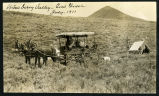 Photograph of carriage near an outpost in Strawberry Valley (Nev.), July, 1911