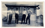 Photograph of C. A. Earle Rinker and friends, Goldfield (Nev.), early 1900s