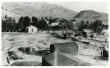 Photograph of ranches and residences, Beatty (Nev.), 1920