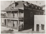 Photograph of the two-story Turner House, Pioche (Nev.), 1900-1925