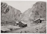 Photograph of Condor Canyon Mill, 1870