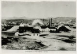 Photograph of Tonopah Extension Mine buildings and headframe, Tonopah (Nev.), 1905
