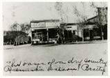 Photograph of Remick's Saloon and Club 66, Beatty (Nev.), early 1900s