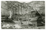 Photograph of the Raymond and Ely Mine, Pioche (Nev.), 1900-1925