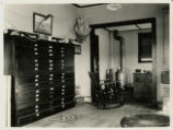 Photograph of Edwin S. Giles survey office, Goldfield (Nev.), 1900-1925