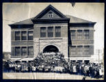 Photograph of the Goldfield High School, Goldfield (Nev.), 1908