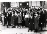 Photograph of the students and faculty at Las Vegas School, Las Vegas (Nev.), 1917